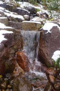 段落ちの滝