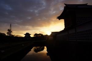 金沢城の夜明け前 H28.2.4