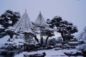 七福神山。 江戸時代の竹沢御殿の庭園のなごりだと言われる。
